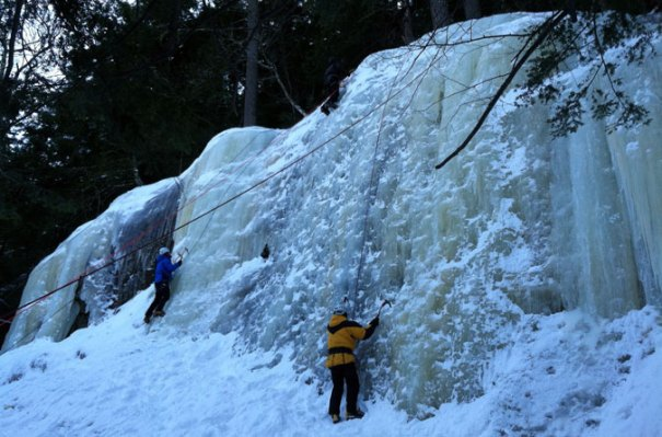 Cathedral Ice Ledge