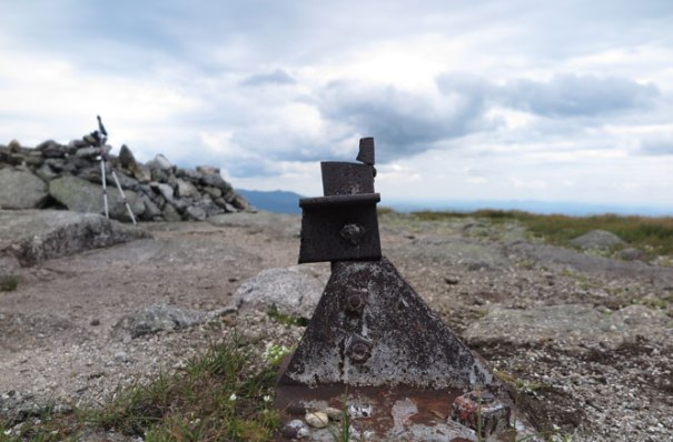 Saddleback Mountain Fire Tower Base