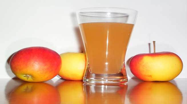 Apple Juice- Best Medicine for Dehydration