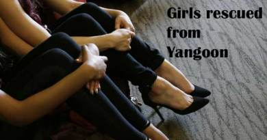 8 Manipuri Girls rescued from Yangoon