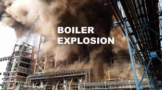 Rae Bareli- 10 killed as boiler explodes at Unchahar plant