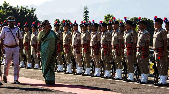 Defence Minister Nirmala Sitharaman Visits Forward Army & AF Bases in Assam and Arunachal