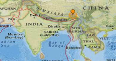 Earthquake measuring 6.9 jolt Arunachal, Tibet