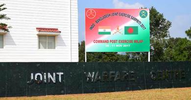 Meghalaya- Umroi to have Joint Training Warfare Centre