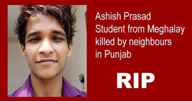 Student from Meghalay killed by neighbours in Punjab