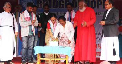 Jorhat Diocese- Bridge of Hope celebrates Christmas