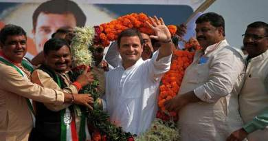 Rahul Gandhi elected as new president of Congress party