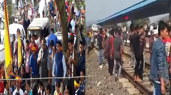 Assam: Protest against RSS, 33 injured including 25 policemen in firing