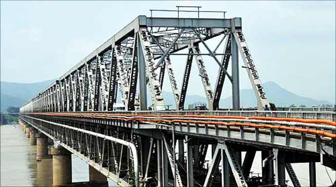 Assam: NF Railway rectified Saraighat bridge in Guwahati