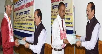 Assam: NFR Awarded two Railway Staff