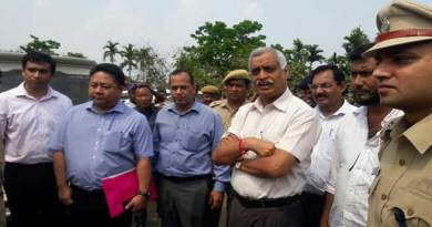 High level MHA team inspects Assam - Mizoram inter-state border