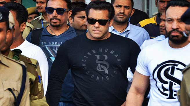 Blackbuck Poaching Case : Salman Khan gets 5yrs Jail term