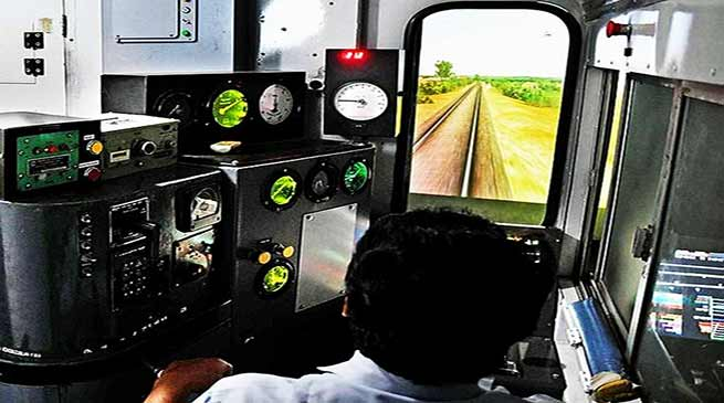 Assam:  NF Railway starts training of Assistant Loco Pilots on simulator