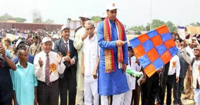 Tripura: CM inaugurates rail tank wagon to end fuel crisis
