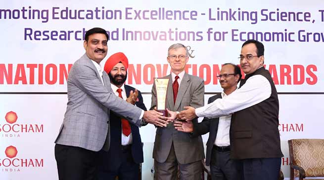 "Assam:  Kaziranga University awarded with ""Best University Nurturing 21st Century Innovative Skills"""