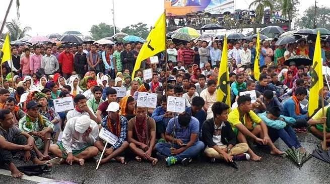 Assam: 5 Days National Highway Blockade by ABSU begins