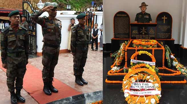 Arunachal: Memorial of Martyr Havildar Hangpan Dada inaugurated