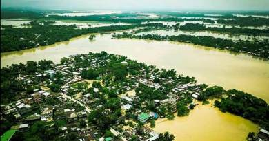 Assam Flood: toll at 12 , 4.5 lakh people affected
