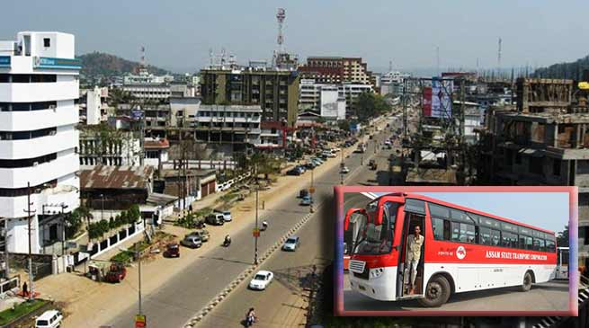 Assam: ASTC plying 700 buses during 24-chakka bandh called by AAMTA