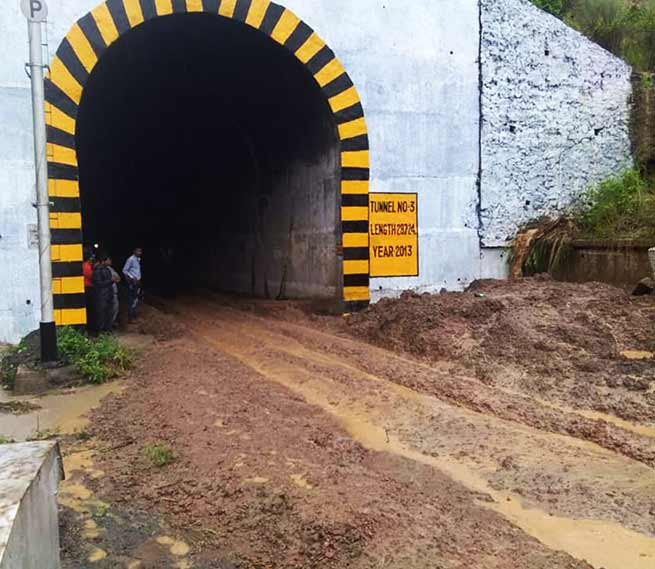 Assam: Land Slides affects Train services between Lumding – Badarpur hill section
