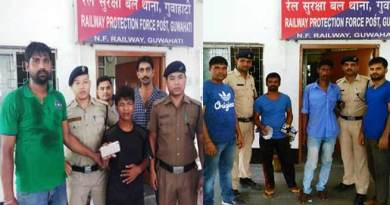 Assam: RPF of NF Railway arrests persons involved in theft of passenger belongings