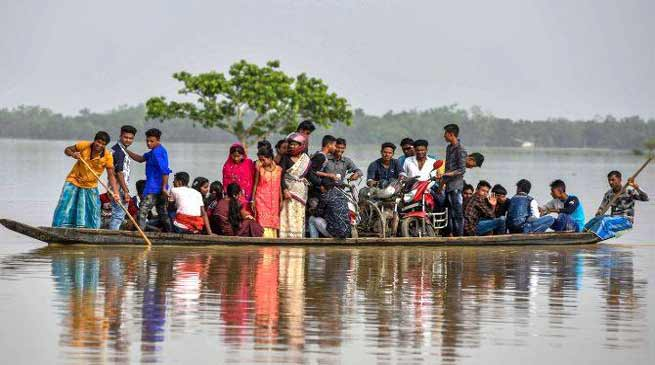 Assam: Floodwaters recede in Hailakandi