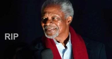 Kofi Annan, former United Nations Secretary-General dies