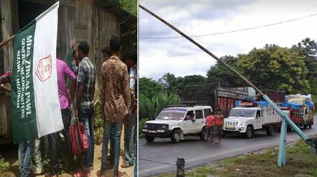 Mizoram: MZP detects over 200 illegal immigrants from state