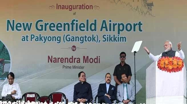 Sikkim: PM Modi inaugurates Pakyong Airport
