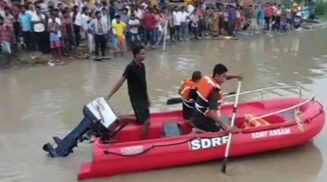 Assam Boat capsize:  rescue operation fails to trace 3 missing persons on Day 3