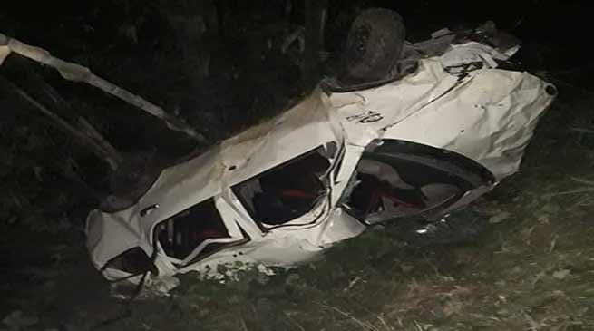 Sikkim: Five tourist killed in road accident
