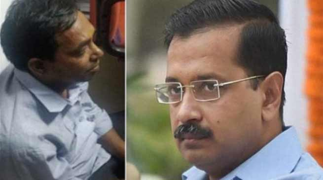 Delhi: CM Arvind Kejriwal attacked with Chilli Powder
