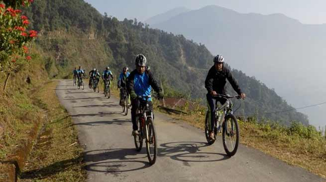 Assam: Indo-Bhutan Army joint Cycling cum Trekking Expedition