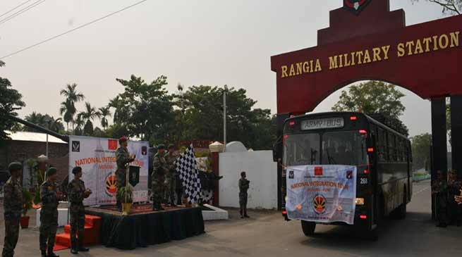 Assam: Army organised National Integration Tour under Operation Sadbhavna