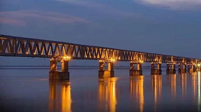 Assam: PM Modi will inaugurate Bogibeel Bridge on 25th Dec