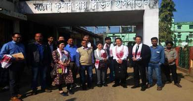 Assam: JICA survey team mission inspects medical institutions in Hailakandi dist