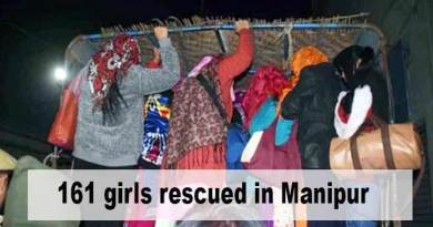 Manipur: 161 girls rescued from Imphal and Moreh, 2 suspected traffickers arrested