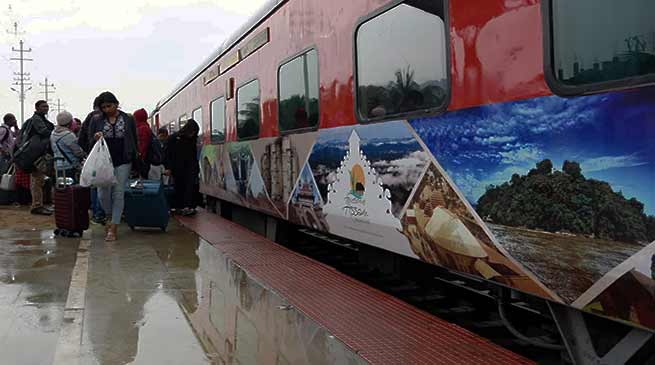 "Assam: ""Awesome Assam"" promotion on trains"