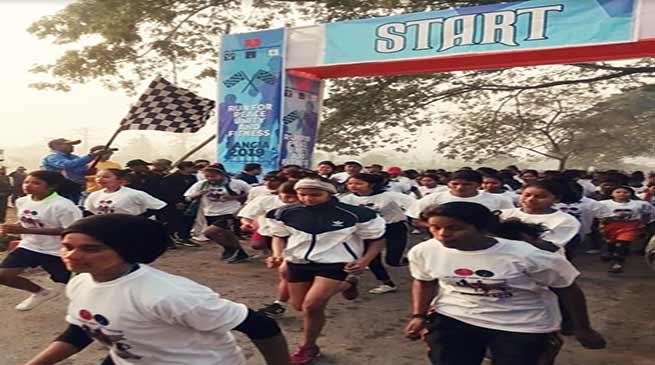 Assam: Army organises Run for Peace, Unity and Fitness at Rangia