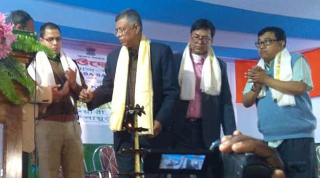 Assam: Siddhartha launches farmers' schemes in Hailakandi