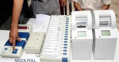 Assam: Mock polling station setup in Hailakandi DC office