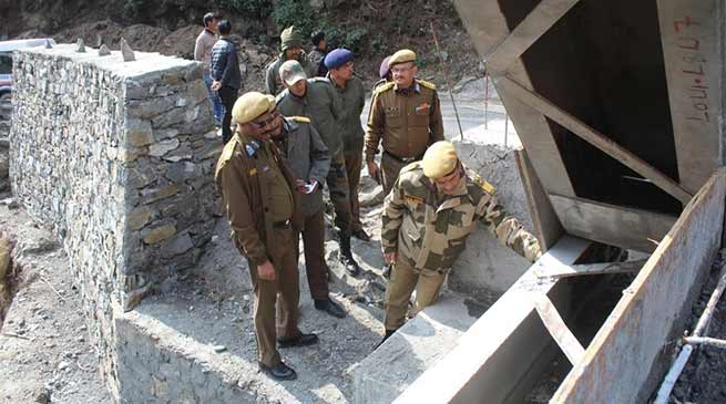 Assam: ADG Border Roads inspects Project Vartak