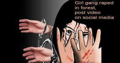 Assam:  Girl gang raped in forest,  post video on social media