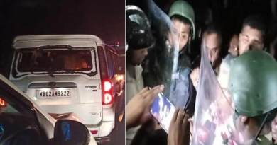 Assam: Himanta Biswa Sarma's convoy was attacked in West Bengal