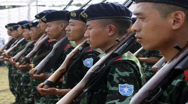 Manipur: NSCN (IM) vacates unauthorised camp in Sihai village