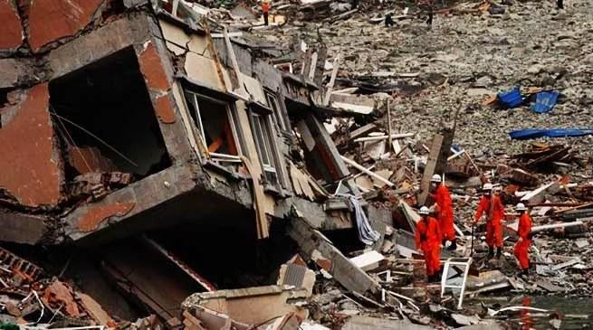 China Earthquake: kills 12, injured 134