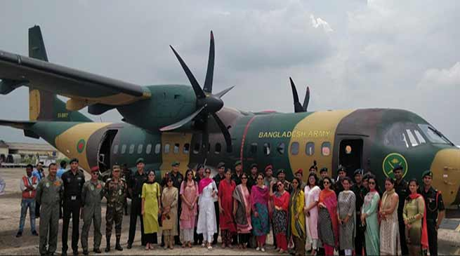 Assam: 15 Middle level officers of Indian Army visited Bangladesh