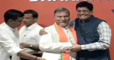 Congress Leader from Assam Bhubneswar Kalita Joins BJP