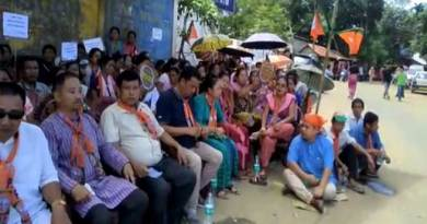 Mizoram: BJP protest against Chakma Council's new land law