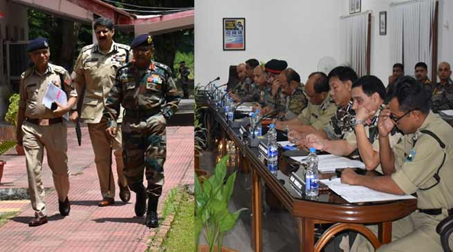 Assam:Operational group takes stock of counter insurgency operations